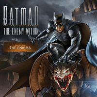 Portada oficial de Batman: The Enemy Within - Episode 1: Enigma para PS4