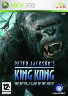 Portada oficial de King Kong para Xbox 360