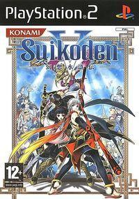 Portada oficial de Suikoden V para PS2