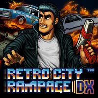 Portada oficial de Retro City Rampage DX para Switch