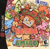 Portada oficial de Samba De Amigo para Dreamcast
