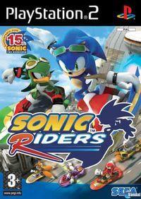 Portada oficial de Sonic Riders para PS2