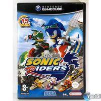 Portada oficial de Sonic Riders para GameCube