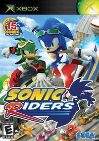 Portada oficial de Sonic Riders para Xbox