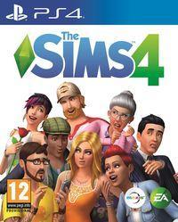 Portada oficial de Los Sims 4 para PS4