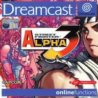 Portada oficial de Street Fighter Alpha 3 para Dreamcast