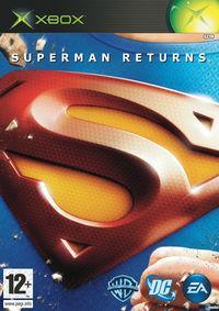 Portada oficial de Superman Returns para Xbox