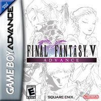Portada oficial de Final Fantasy V Advance para Game Boy Advance