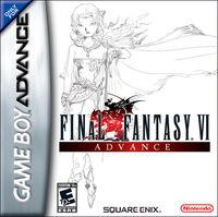 Portada oficial de Final Fantasy VI para Game Boy Advance