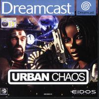 Portada oficial de Urban Chaos para Dreamcast
