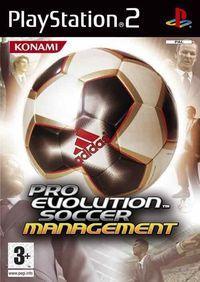 Portada oficial de Pro Evolution Soccer Management para PS2