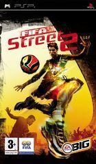 Portada oficial de FIFA Street 2 para PSP