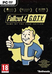 Portada oficial de Fallout 4: Game of the Year Edition para PC