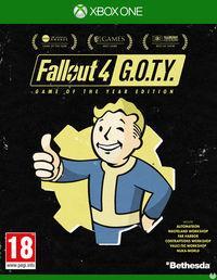 Portada oficial de Fallout 4: Game of the Year Edition para Xbox One