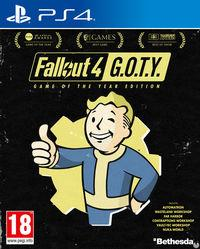 Portada oficial de Fallout 4: Game of the Year Edition para PS4
