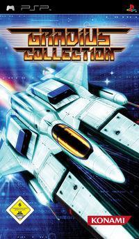 Portada oficial de Gradius Collection para PSP