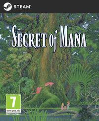 Portada oficial de Secret of Mana para PC