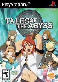 Portada oficial de Tales of the Abyss para PS2