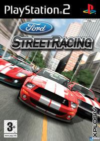 Portada oficial de Ford Street Racing para PS2