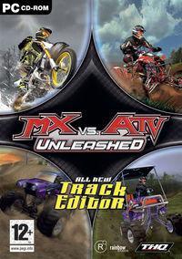 Portada oficial de MX vs. ATV Unleashed para PC