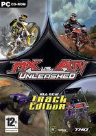 Portada oficial de MX vs. ATV Unleashed para PC