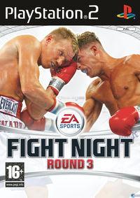 Portada oficial de Fight Night Round 3 para PS2