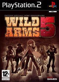 Portada oficial de Wild Arms 5 para PS2