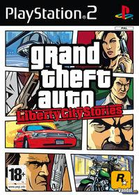 Portada oficial de Grand Theft Auto: Liberty City Stories para PS2