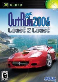 Portada oficial de Outrun 2006 Coast 2 Coast para Xbox