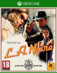 Portada oficial de L.A. Noire para Xbox One