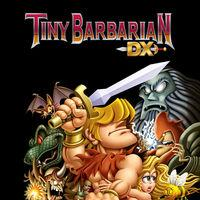 Portada oficial de Tiny Barbarian DX para Nintendo Switch