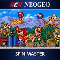 Portada oficial de NeoGeo Spin Master para PS4
