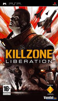 Portada oficial de Killzone Liberation para PSP