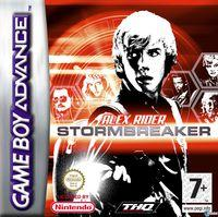 Portada oficial de Stormbreaker para Game Boy Advance