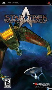 Portada oficial de Star Trek: Tactical Assault para PSP