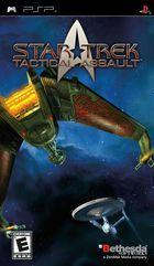 Portada oficial de Star Trek: Tactical Assault para PSP