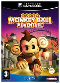 Portada oficial de Super Monkey Ball Adventure para GameCube