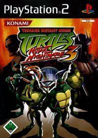 Portada oficial de Teenage Mutant Ninja Turtles 3 para PS2