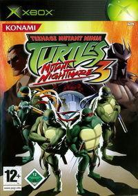 Portada oficial de Teenage Mutant Ninja Turtles 3 para Xbox