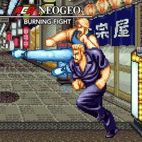 Portada oficial de NeoGeo Burning Fight para Nintendo Switch