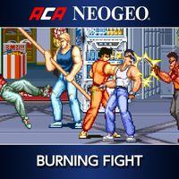 Portada oficial de NeoGeo Burning Fight para PS4