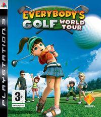 Portada oficial de Everybody's Golf World Tour para PS3