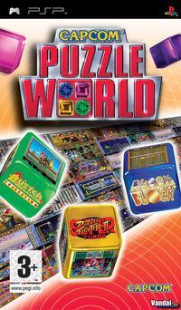Portada oficial de Capcom Puzzle World para PSP