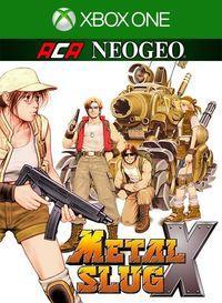 Portada oficial de NeoGeo Metal Slug X para Xbox One