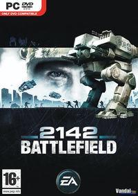 Portada oficial de Battlefield 2142 para PC