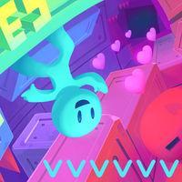 Portada oficial de VVVVVV para Switch