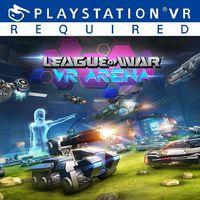 Portada oficial de League of War: VR Arena para PS4