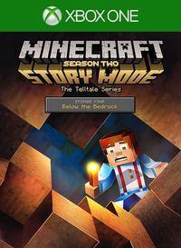 Portada oficial de Minecraft Story Mode: Season Two - Episode 4: Below the Bedrock para Xbox One