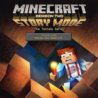 Portada oficial de Minecraft Story Mode: Season Two - Episode 4: Below the Bedrock para PS4