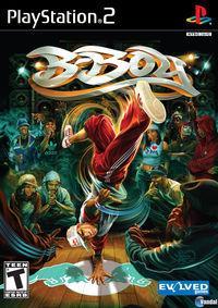 Portada oficial de B-Boy para PS2